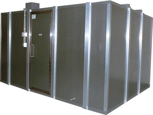 電磁波シールドルームの写真
