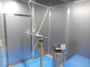 遮蔽測定の写真4